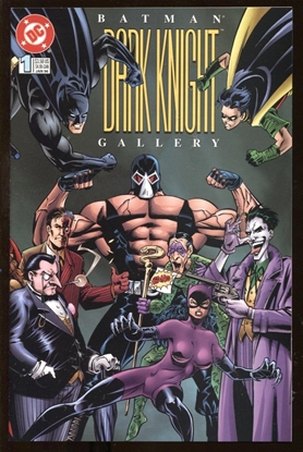 Picture of BATMAN DARK KNIGHT GALLERY #1 1996 9.4 NM