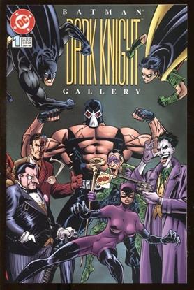 Picture of BATMAN DARK KNIGHT GALLERY #1 1996 9.4 NM