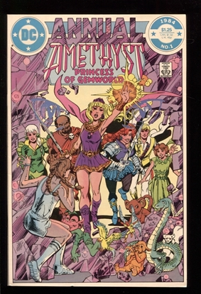 Picture of AMETHYST PRINCESS OF GEMWORLD (1984) ANNUAL #1 9.6 NM+