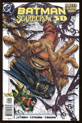 Picture of BATMAN SCARECROW 3-D #1 1998 9.4 NM