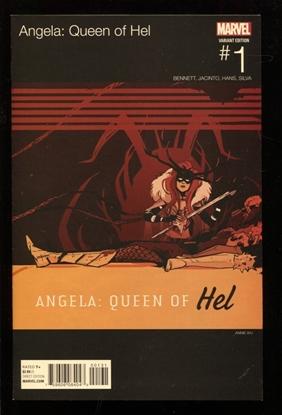 Picture of ANGELA QUEEN OF HEL #1 WU HIP HOP NM