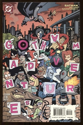 Picture of BATMAN GOTHAM ADVENTURES #45 2002 9.4 NM