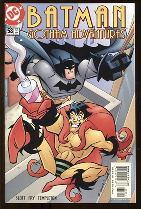 Picture of BATMAN GOTHAM ADVENTURES #58 2002 9.6 NM+