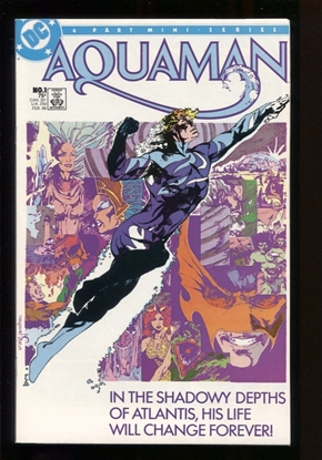 Picture of AQUAMAN (1986) #1 9.6 NM+