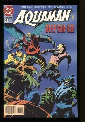 Picture of AQUAMAN (1994) #6 9.6 NM+