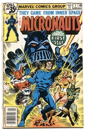 Picture of MICRONAUTS (1979) #1 6.5 FN+