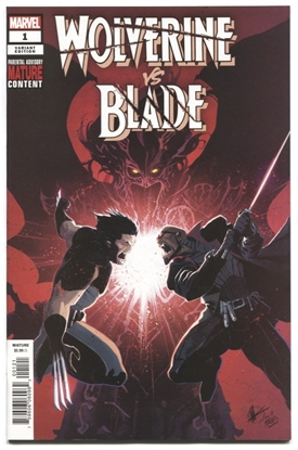 Picture of WOLVERINE VS BLADE SPECIAL #1 SCALERA VAR (MR)