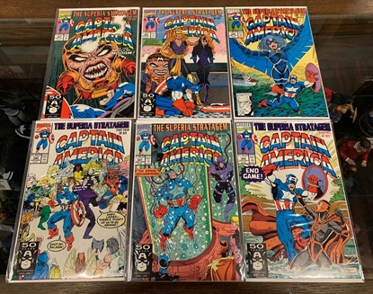 Picture of CAPTAIN AMERICA (1968) #387-392 SUPERIA STRATAGEM SET VF/NM