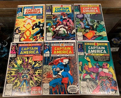 Picture of CAPTAIN AMERICA (1968) #357-362 BLOOD STONE HUNT SET VF/NM