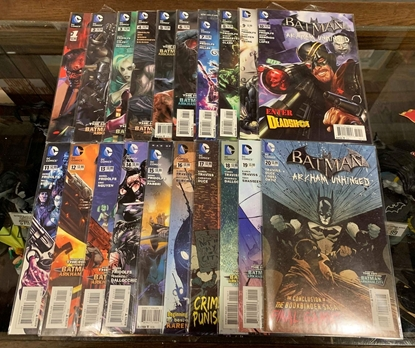 Picture of BATMAN ARKHAM UNHINGED (2012) #1-20 1ST PRINT SET VF/NM