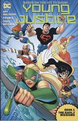 Picture of YOUNG JUSTICE THE ANIMATED SER TP BOOK 01 THE EARLY MISSIONS