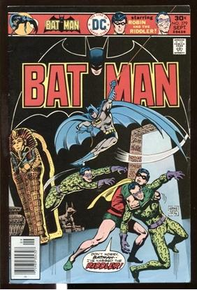 Picture of BATMAN (1940) #279 7.5 VF-