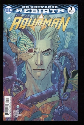 Picture of AQUAMAN (REBIRTH) (2016) #1 VAR NM
