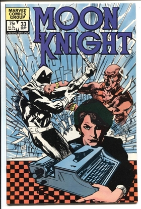 Picture of MOON KNIGHT (1980) #33 9.2 NM-