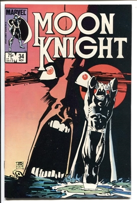 Picture of MOON KNIGHT (1980) #34 8.0 VF