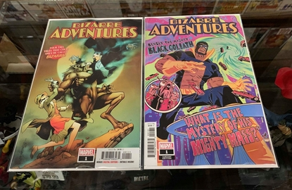 Picture of BIZARRE ADVENTURES #1 1ST PRINT & VARIANT COVER SET NM