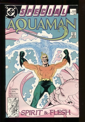 Picture of AQUAMAN SPECIAL (1988) #1 9.6 NM+