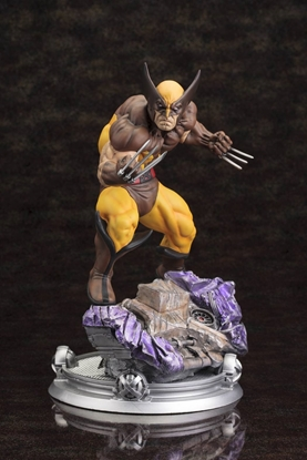 Picture of MARVEL WOLVERINE DANGER ROOM SESSIONS STATUE NEW