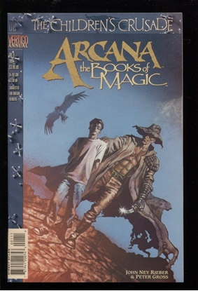 Picture of ARCANA: THE BOOKS OF MAGIC ANNUAL #1 9.4 NM