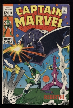 Picture of CAPTAIN MARVEL (1968) #11 4.0 VG