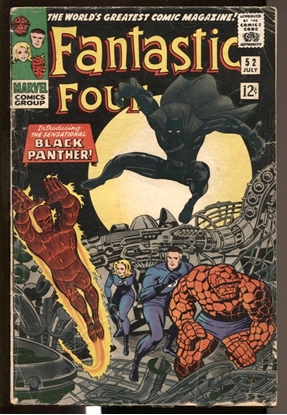 Picture of FANTASTIC FOUR #52 2.5 GD+