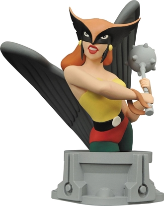 Picture of JLA THE ANIMATED SERIES HAWKGIRL RESIN BUST