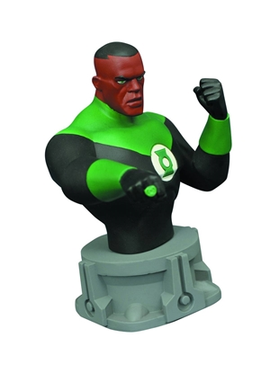 Picture of JL ANIMATED SERIES GREEN LANTERN BUST (C: 1-1-2)