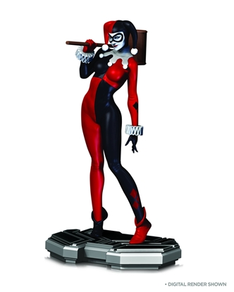 Picture of DC COMICS ICONS HARLEY QUINN STATUE