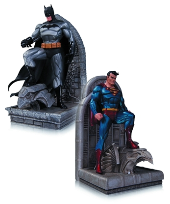 Picture of DC COMICS SUPERMAN & BATMAN BOOKENDS