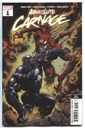 Picture of ABSOLUTE CARNAGE #1 (OF 5) 3RD PTG NEW ART HOTZ VAR AC