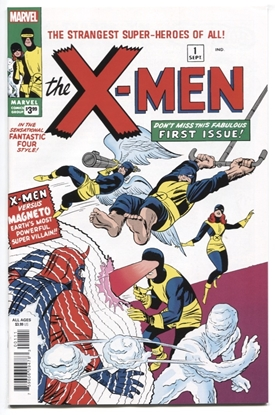 Picture of X-MEN #1 FACSIMILE EDITION