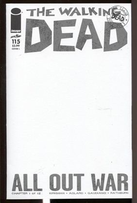 Picture of WALKING DEAD (2003) #115 COVER L NM