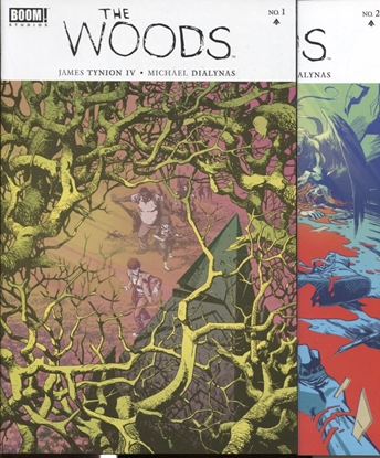 Picture of THE WOODS #1 & 2 SET NM