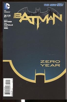Picture of BATMAN #21 N52 9.6 NM+