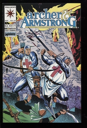 Picture of ARCHER AND ARMSTRONG (1992) #25 9.4 NM
