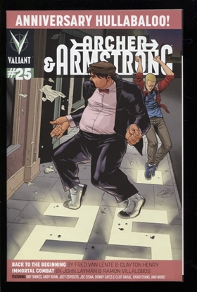 Picture of ARCHER & ARMSTRONG (2012) #25 NM