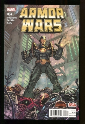 Picture of ARMOR WARS (2015) #4 NM