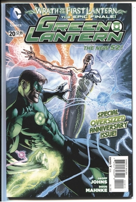 Picture of GREEN LANTERN 2011 #20 8.0 VF