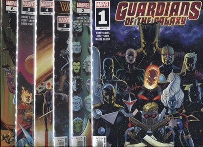 """Picture of GUARDIANS OF THE GALAXY 2019 #1-6 """"FINAL GUANTLET"""""""