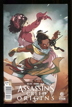 Picture of ASSASSINS CREED ORIGINS (2017) #3 (OF 4) CVR A FAVOCCIA