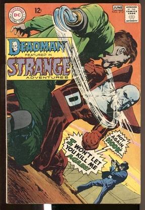 Picture of STRANGE ADVENTURES (1950) #212 5.0 VG/FN