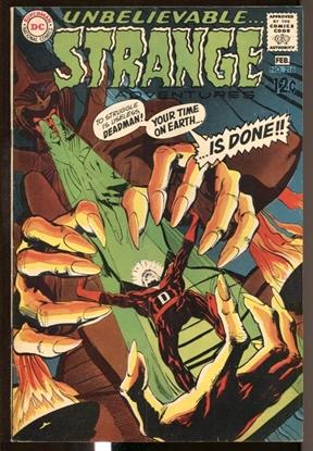Picture of STRANGE ADVENTURES (1950) #216 5.0 VG/FN