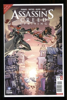 Picture of ASSASSINS CREED UPRISING (2017) #4 CVR A HOLDER NM