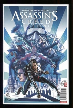 Picture of ASSASSINS CREED UPRISING (2017) #6 CVR A HOLDER NM