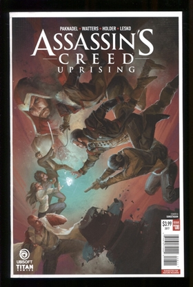 Picture of ASSASSINS CREED UPRISING (2017) #8 CVR A SUNSETAGAIN NM