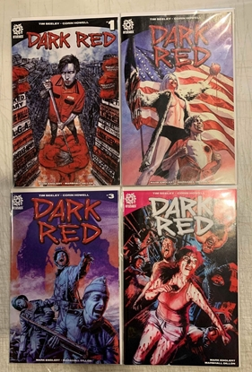 Picture of DARK RED (2019) #1-4 1ST PRINT CVR A SET NM