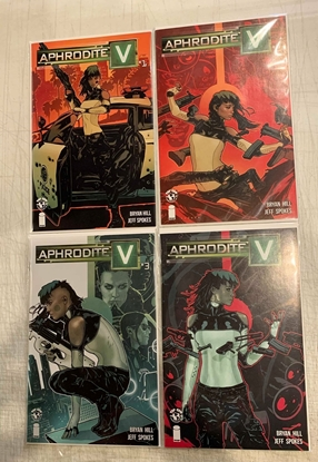 Picture of APHRODITE V (2018) #1-4 1ST PRINT SET NM