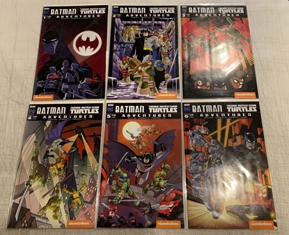 Picture of BATMAN TMNT ADVENTURES (2017) #1-6 SUB CVR A SET NM