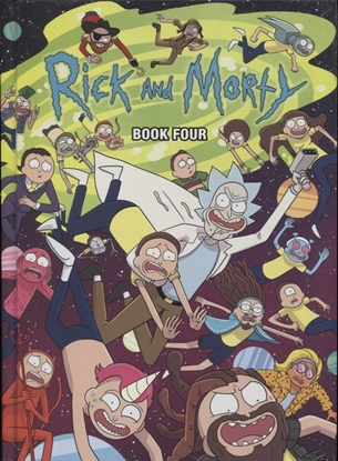 Picture of RICK AND MORTY HC BOOK 04 DLX ED