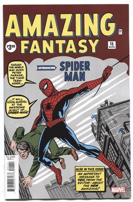 Picture of AMAZING FANTASY #15 FACSIMILE EDITION